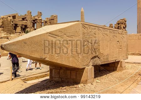 Remain Of The Obelisk Of Hatshepsut