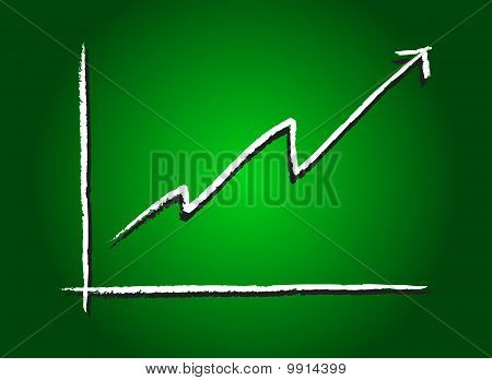 Stock Market Increase Green