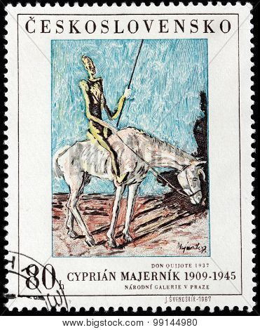 Don Quixote Stamp
