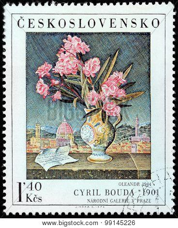 Oleander Stamp