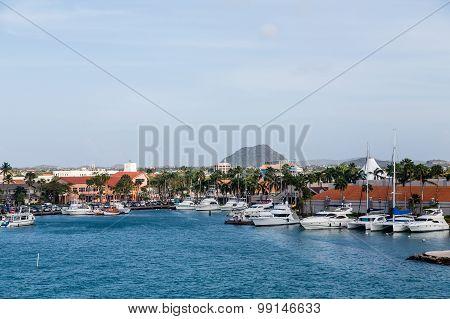 Yacht Basin On Aruba