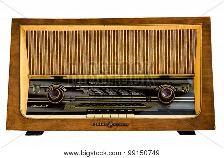 Antique Brown Radio