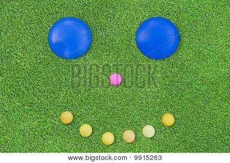 Golfe e sorriso