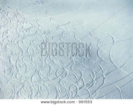 Traces On The Snow