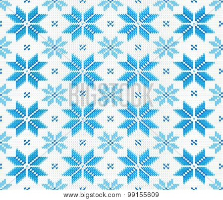 Seamless Knitting Pattern