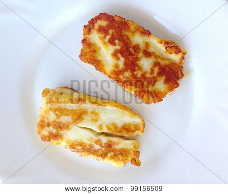 Grilled Haloumi Cheese Greek Cypriot Cuisine Mezecuicuisinemmeze
