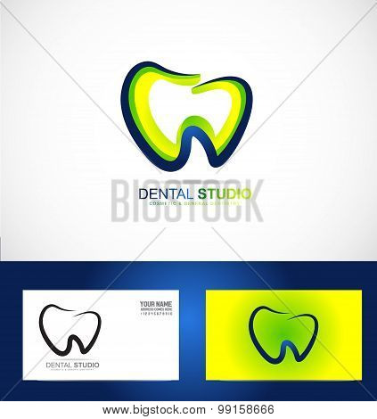 Dental Dentist Dentistry Practice Logo
