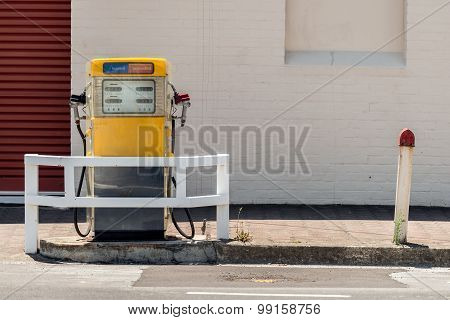 Antique petrol station