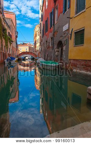 Picturesque view of Venice, Italy.