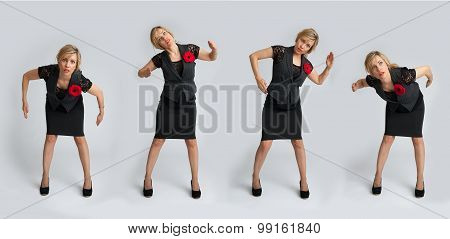 Beautiful Business Woman Posing