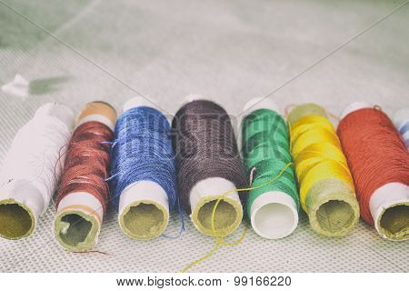 Colored Threads  For Sewing