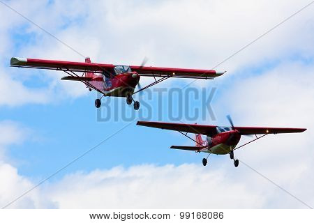 Two Aircraft