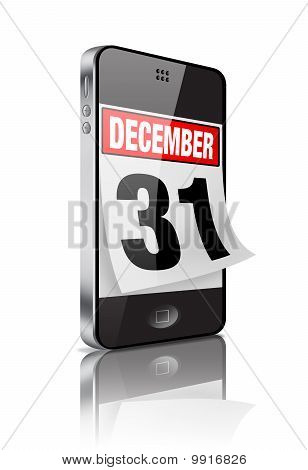 New Year's Mobile Calendar