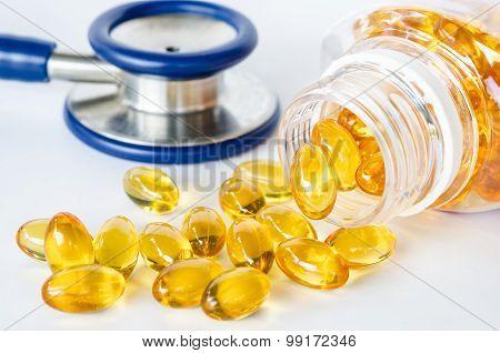 Fish Oil Capsules.
