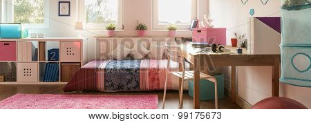 Colorful Teenager Room
