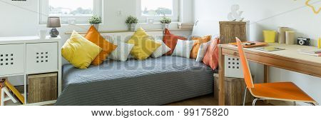 Modern Style Furnished Teenager Room