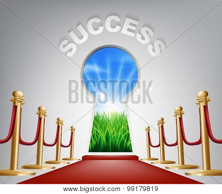 Success Conceptual Illustration