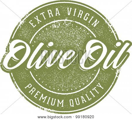 Vintage Extra Virgin Olive Oil Label