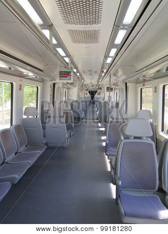 Empty Local Train