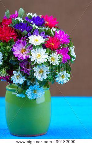 Mixed Flower Bouquet in vase