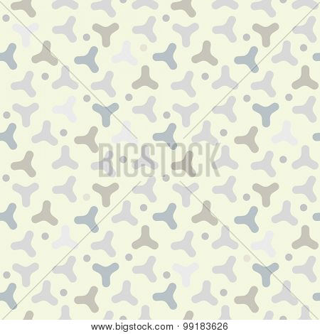 Seamless Vector Camo Pattern Background with pastel colors and grays