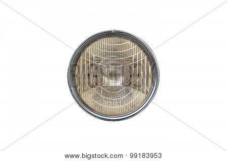 Round Car Headlight