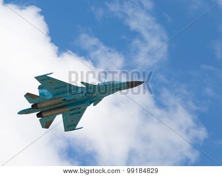 Powerful Fighter-bomber Su-34