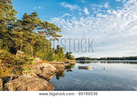 Archipelago On The Baltic Sea Coast