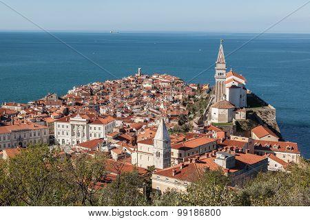 Old town Piran,