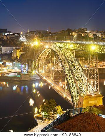 Eiffel Bridge, Porto, Portgual