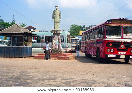 Sri Lanka Bus Station