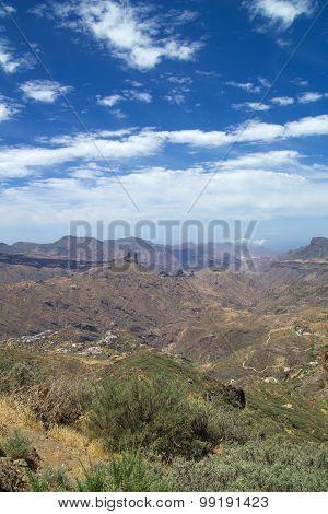Inland Gran Canaria, Caldera De Tejeda