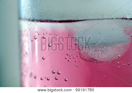 Ice cube in a drink