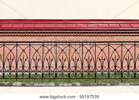 Wrought-iron Fence