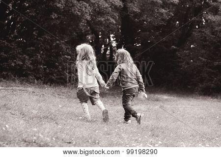 Two Friends Girls