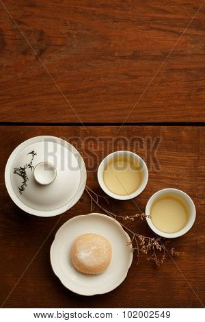 Harmony Of Tea And Sweets