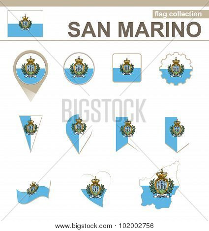 San Marino Flag Collection