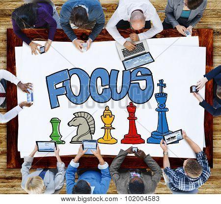Focus Focal Concentration Attention Concept