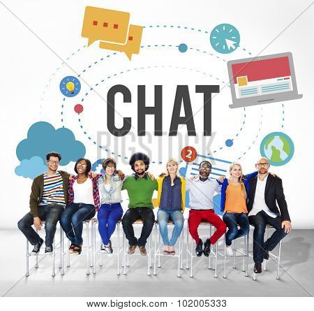 Chat Chatting Online Messaging Technology Concept