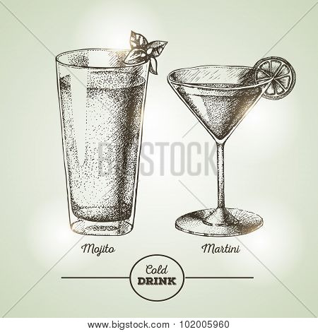 Cocktail Sketch
