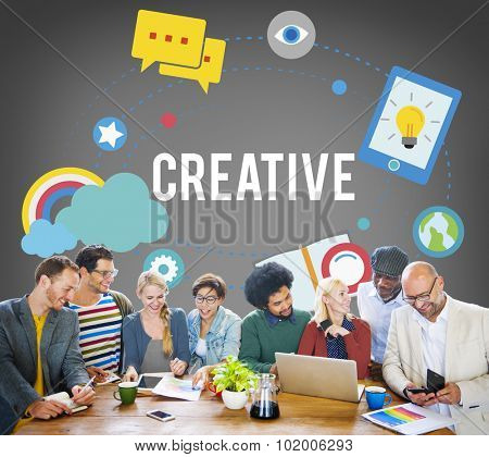 Creative Customize Design Innovation Inspiration Vision Concept