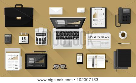 Businessman's Desk