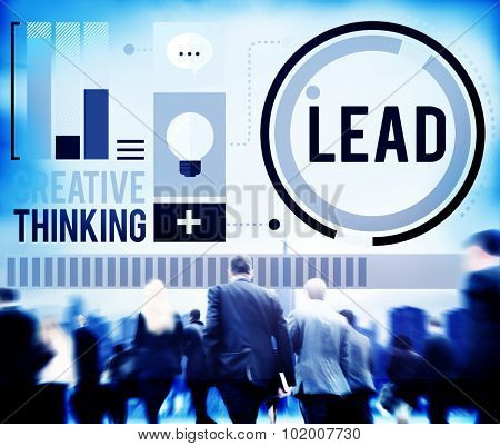 Lead Leadership Coach Trainer Management Concept