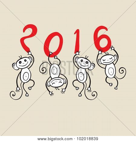 Chinese zodiac Monkey.