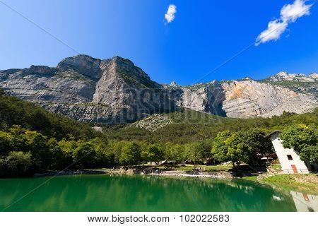 Small Alpine Lake- Trentino Italy