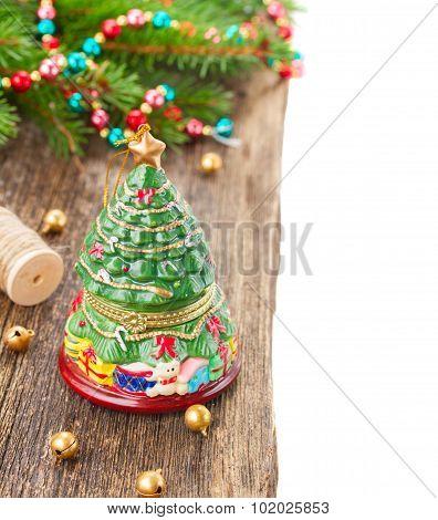 christmas evergreen tree