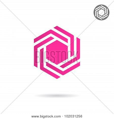 Hexagonal Design Element