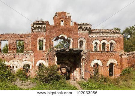 Farmstead Wrangel. Torosova, Leningrad region. Russia.
