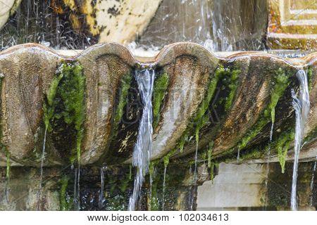 Old Fountain Gushing