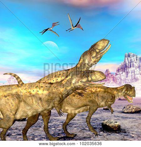 Abelisaurus Dinosaurs